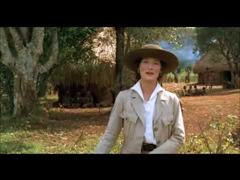"Karen says farewell to Bror - ""Out of Africa"" - Meryl Streep"