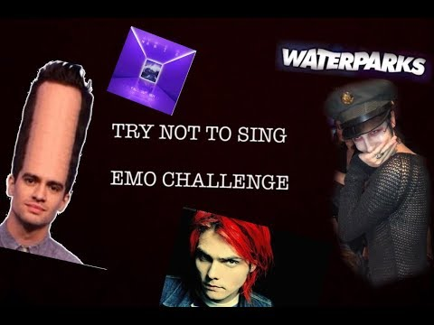 TRY NOT TO SING EMO/ALTERNATIVE ROCK