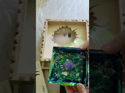 Glitter and Spark 3-D Resin Geode- Part II