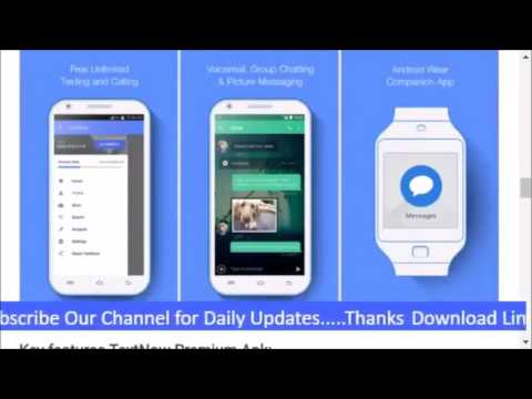 Download Textnow Premuim Free (without Root) And Get Free Sms