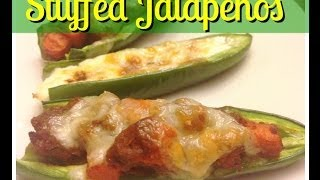 Stuffed Jalapeño Pepper With Picadillo