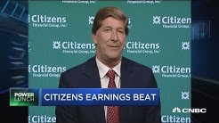 Citizens Financial Group CEO: Higher interest rates are a benefit