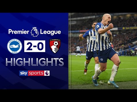 Mooy stars as Brighton sink Bournemouth | Brighton 2-0 Bournemouth | Premier League Highlights
