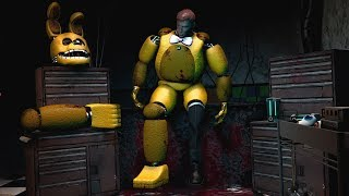 FNAF Help Wanted Repairing Spring Bonnie Game Play Animation Five Nights At Freddy S VR