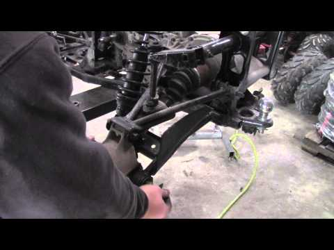 How to Remove Rear CV Axle from Polaris Sportsman ATV