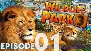 Let's Play Wildlife Park 3 (English) -Episode 01- The Internship! (Campaign Tutorial Gameplay