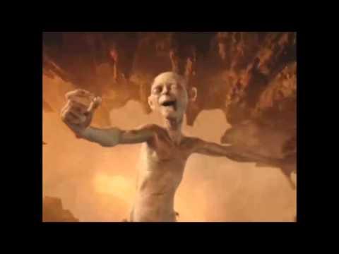 stupid gollum - YouTube