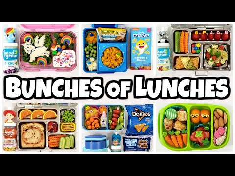 Youtube Family THE CRAZY MIDDLES Choose Our Lunches 😱 School Lunch Ideas for Kids