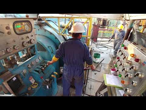 Rig Work 2000HP SCR RIG Floor Hand Job.