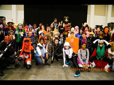 Tidewater Comicon 2017 - Day 1 | Halloween Daily News - YouTube