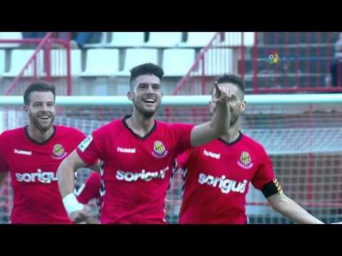 Resumen de Gimnàstic de Tarragona (2-1) Bilbao Athletic