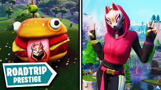 All ROAD TRIP PRESTIGE MISSIONS and REWARDS on Fortnite Season X...