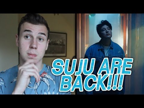 SUPER JUNIOR - One More Chance MV REACTION!!!