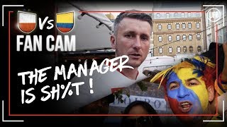 ANGRY POLISH FAN!!! (RANT) | Poland 0-3 Colombia | Fan Cams