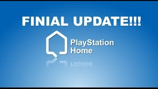 PlayStation Home Finial Update Thank You Homesters Letter PS3