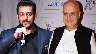 Salman Khan ने Anupam Kher के Ranchi Diaries के लिए दी शुभकामनाएं