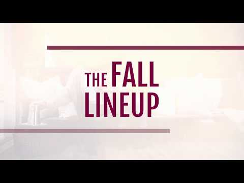 The 2017 Fall Lineup