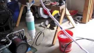 Homemade Liquid Nitrogen Generator using  Regenerative Cooling