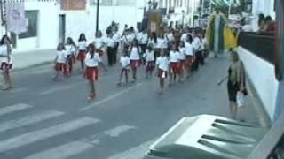 banda de cornetas,tambores y majorettes de la Cala