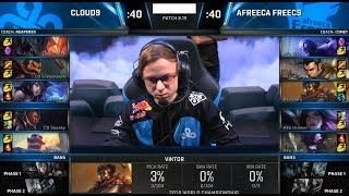 C9 (Svenskeren Graves) VS AFS (Kiin Viktor) Game 2 Highlights - 2018 World Championship QFs