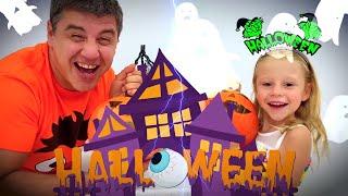 Nastya e casa de bonecas para crianças com surpresas