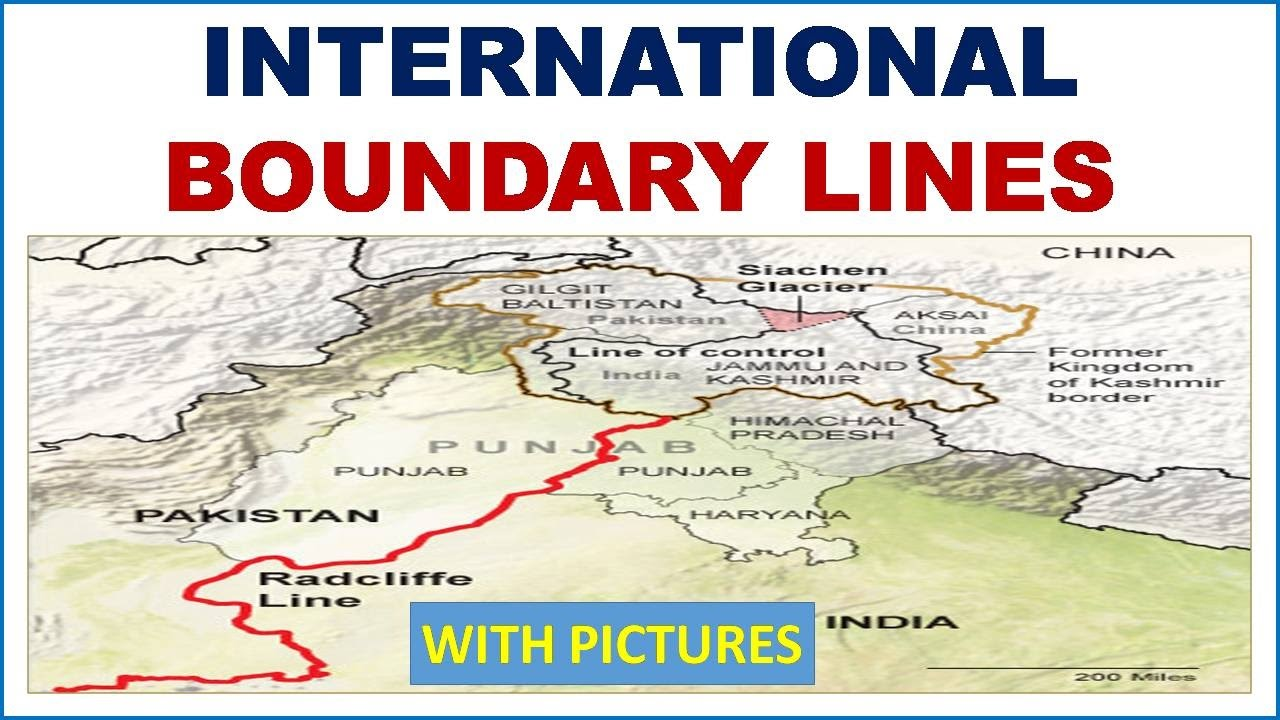 Important international boundary lines static general knowledge important international boundary lines static general knowledge study capsule gumiabroncs