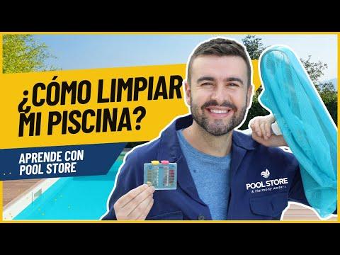 Como limpiar una piscina youtube for Como limpiar fondo piscina