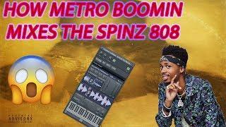 How Metro Boomin Mixes The Spinz 808 🔥😱
