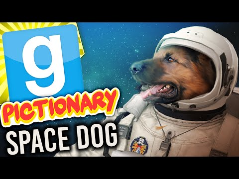 Gmod Pictionary - Space Dog (Garry's Mod Build Challenge)