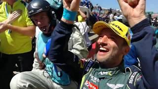 Aston Martin Le Mans 2017 final laps