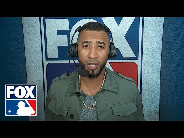 Eduardo Nunez talks about his massive 3-run home run to help clinch Game 1 win for Boston | FOX MLB