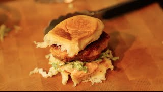 Shrimp Burgers Recipe By Sam The Cookin Guy