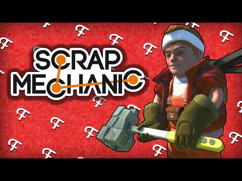 Scrap Mechanic: Construction Noobs, Huge Explosive Tower, Invisible Glitch, Building The Biggest...