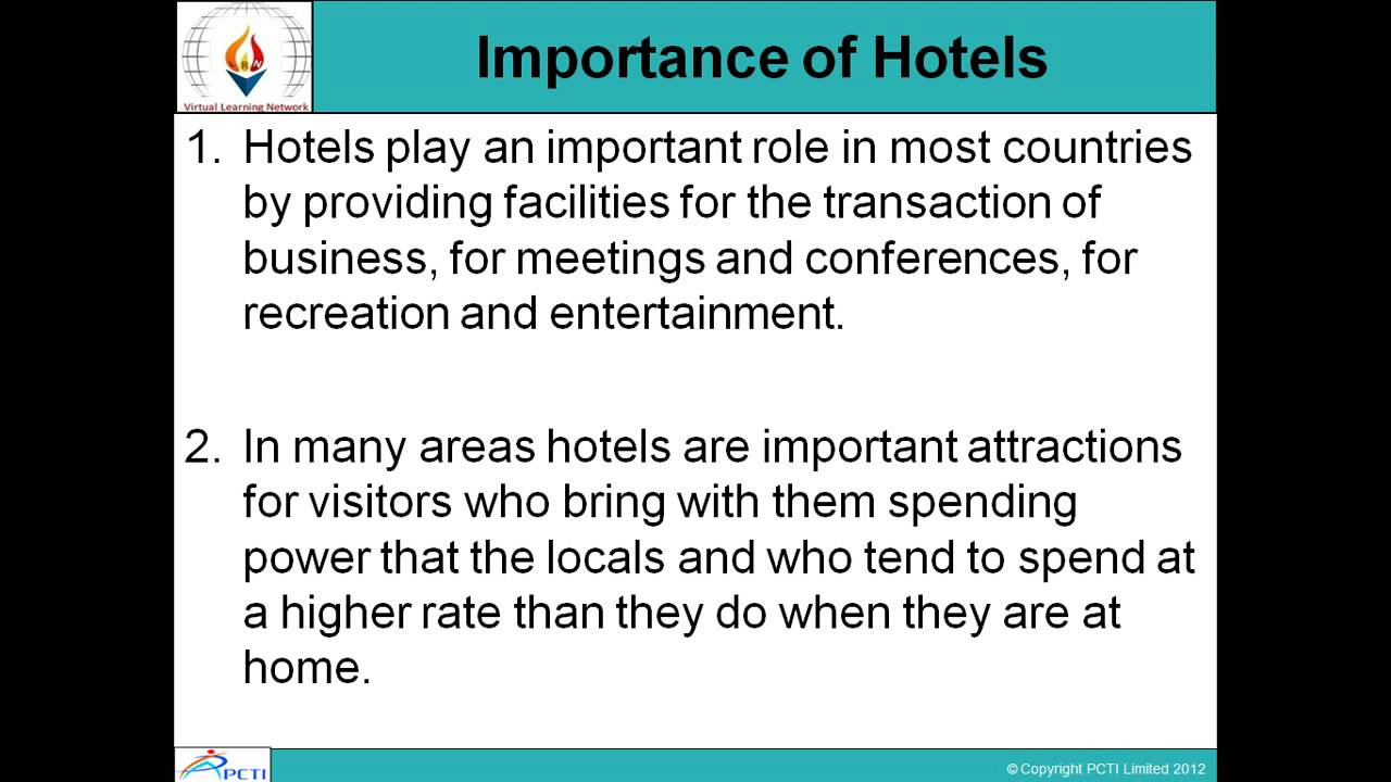 Travel Accommodation and Transport Management-Session-12(Part 1)
