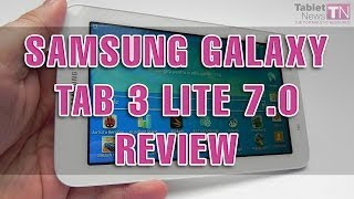 Samsung Galaxy Tab 3 Lite 7 0 Review - Tablet-News com