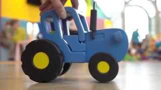 Поиграем в Синий трактор - Мультимир 2019 - Развлечения для детей