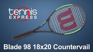 Wilson Blade 98 18x20 Countervail Tennis Racquet Review | Tennis Express