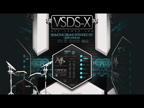 VSDSX VST SIMMONS SDS-V Extended Drum Synthesizer