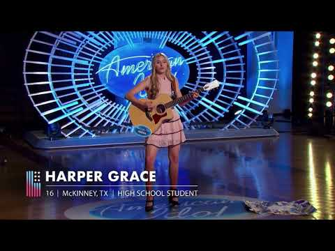 AMERICAN IDOL... Harper Grace needs to record this song