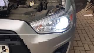 Светодиодные автолампы CN360 N2 установка