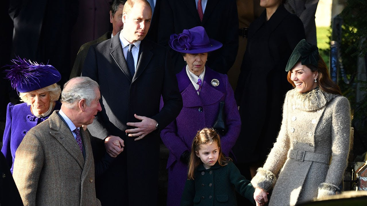 Royals Leave Church Christmas 2020 Duke of York misses Royal family outing to Christmas Day church