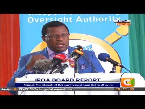 Citizen Extra: IPOA board report.