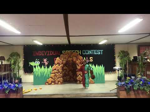 The Ant And The Grasshopper (storytelling Contest)