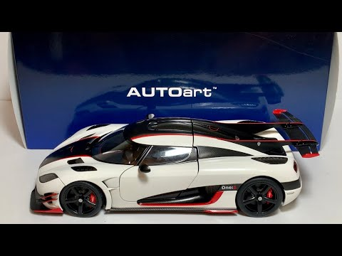 AUTOart 1:18 Koenigsegg One:1 Pebble White