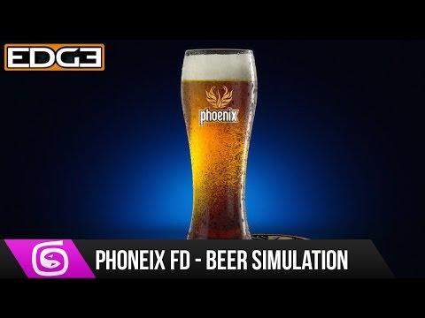 #1 3Ds Max & Phoenix FD Tutorial - Fluid Simulation, Beer Animation