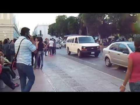 RECORRIENDO EL CENTRO DE MERIDA-YUCATAN  2014