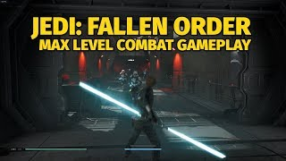 Jedi: Fallen Order - Max Level Combat Gameplay