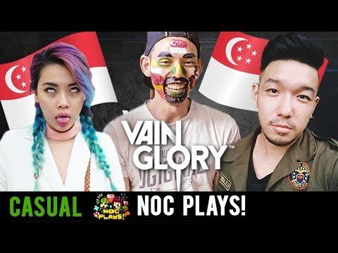 NOC Plays Vainglory (National Day Punishment)