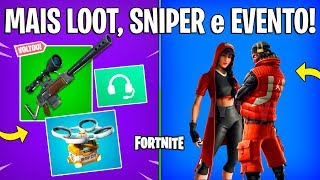 FORTNITE-HEAT FOCI, SNIPER RETURNED and NEW SKINS EVENT JORDAN! -Patch 9.1