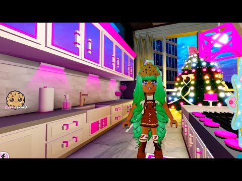 Best Home Ever ! Winter Update Royal High School Roblox Let's Play Online Video Game